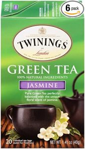 Twinning Jasmine flavored green tea